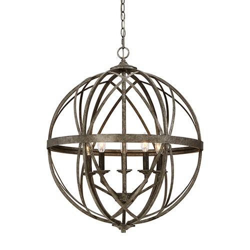 Millennium Lighting 2285-AS Lakewood Pendant in Antique Silver