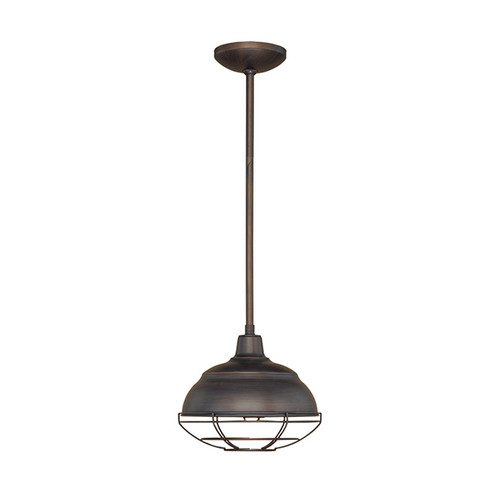 Millennium Lighting 5301-RBZ Neo-Industrial Mini Pendant in Rubbed Bronze