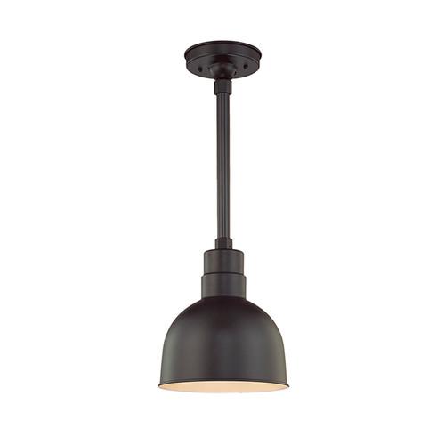 "Millennium Lighting RDBS10-SB R Series 10"" Dome Shade in Satin Black - Shade Only"