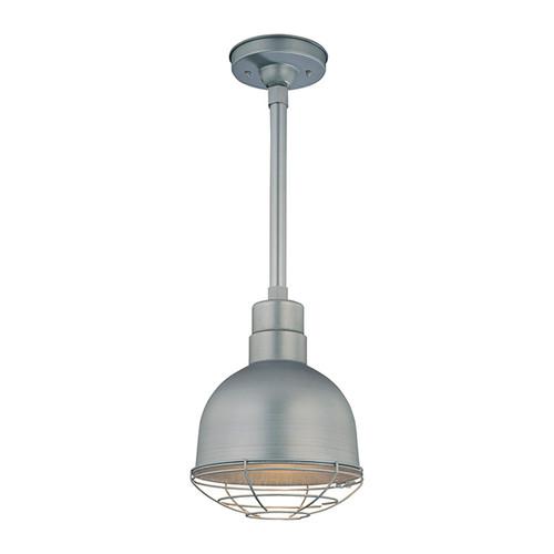 "Millennium Lighting RDBS10-GA R Series 10"" Dome Shade in Galvanized Steel - Shade Only"
