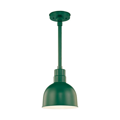 """Millennium Lighting RDBS10-SG R Series 10"""" Dome Shade in Satin Green - Shade Only"""