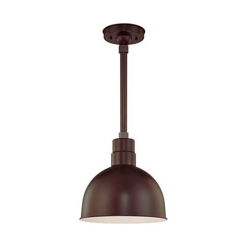 """Millennium Lighting RDBS12-ABR R Series 12"""" Dome Shade in Bronze - Shade Only"""