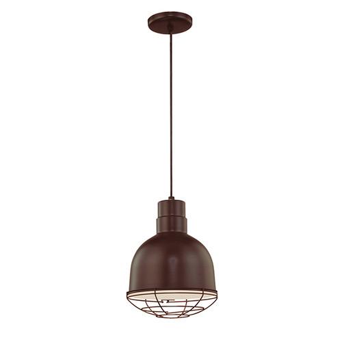 Millennium Lighting RDBC10-ABR R Series Pendant in Architectural Bronze