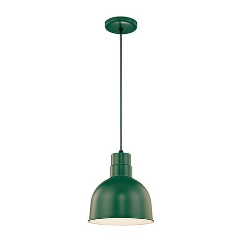 Millennium Lighting RDBC10-SG R Series Pendant in Satin Green