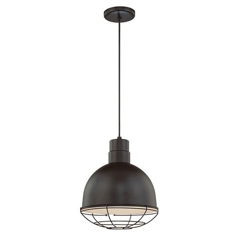 Millennium Lighting RDBC12-SB R Series Pendant in Satin Black