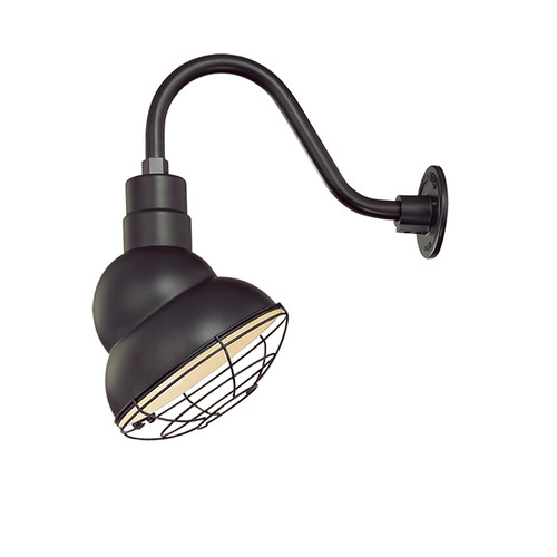 "Millennium Lighting RES10-SB R Series 10"" Satin Black Industrial Warehouse Shade - Shade Only"