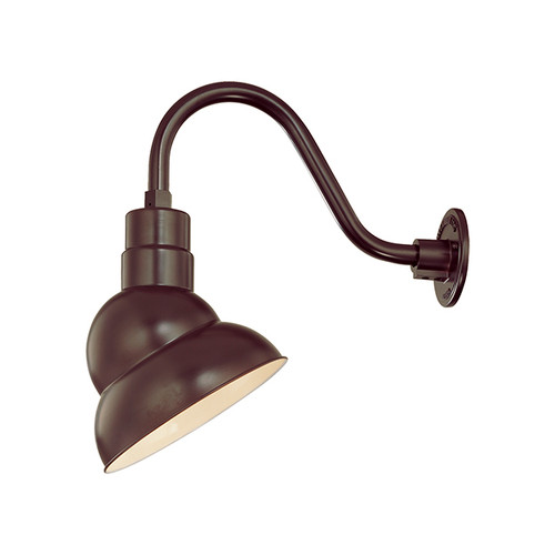"""Millennium Lighting RES10-ABR R Series 10"""" Bronze Industrial Warehouse Shade - Shade Only"""