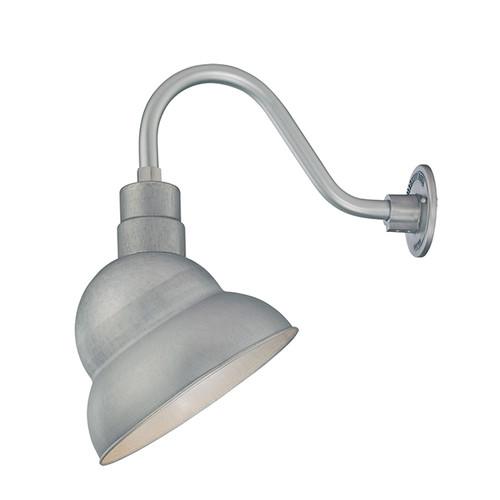"Millennium Lighting RES12-GA R Series 12"" Galvanized Steel Industrial Warehouse Shade - Shade Only"