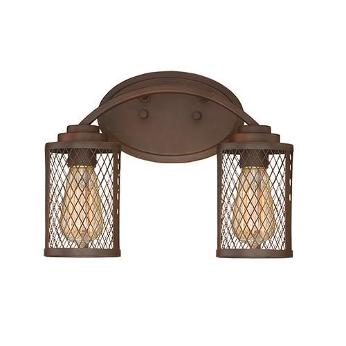 Millennium Lighting 3272-RBZ Akron Vanity Light in Rubbed Bronze