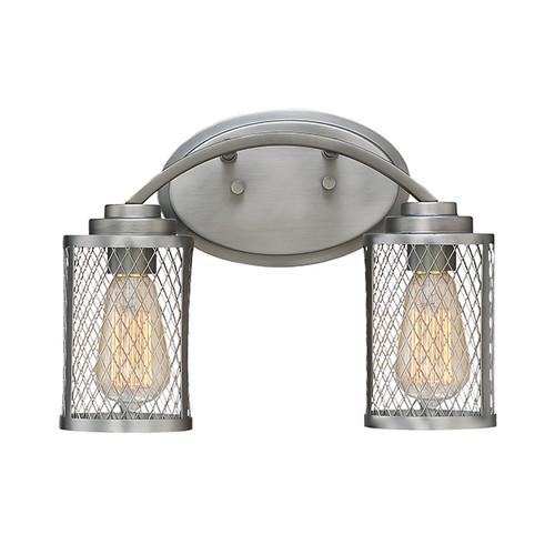Millennium Lighting 3272-BPW Akron Vanity Light in Brushed Pewter