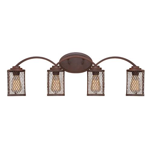 Millennium Lighting 3274-RBZ Akron Vanity Light in Rubbed Bronze