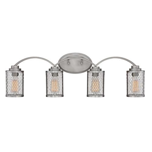 Millennium Lighting 3274-BPW Akron Vanity Light in Brushed Pewter