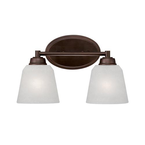 Millennium Lighting 3222-RBZ Franklin Light India Scavo Vanity Light in Rubbed Bronze
