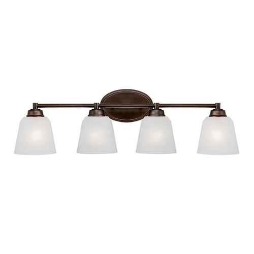 Millennium Lighting 3224-RBZ Franklin Light India Scavo Vanity Light in Rubbed Bronze