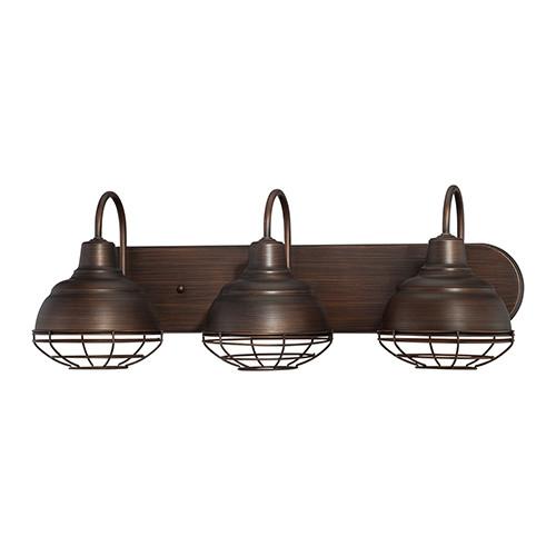 Millennium Lighting 5423-RBZ Neo-Industrial Vanity Light in Rubbed Bronze