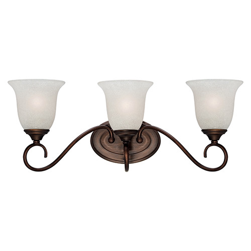 Millennium Lighting 1183-RBZ Light India Scavo Vanity Light in Rubbed Bronze