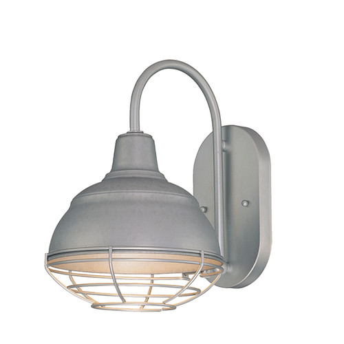 Millennium Lighting RWHWB8-GA R Series Wall Sconce in Galvanized