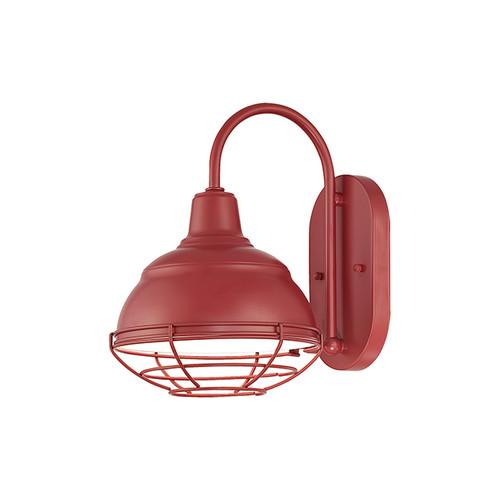 Millennium Lighting RWHWB8-SR R Series Wall Sconce in Satin Red