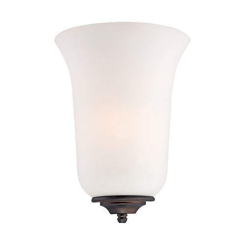 Millennium Lighting 5271 Etched White Wall Sconce