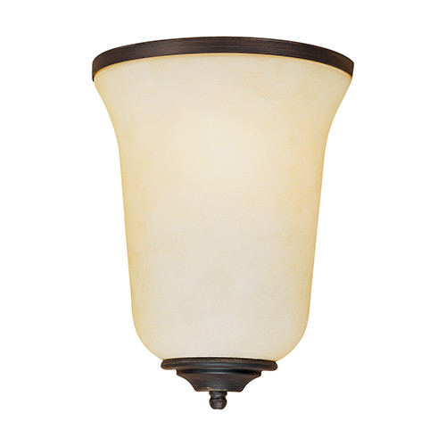 Millennium Lighting 5291-RBZ Turinian Scavo Wall Sconce in Rubbed Bronze