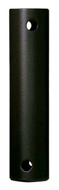 Fanimation DR1SS-12BLW 12-inch Downrod - Black - Stainless Steel At CLW Lighting!
