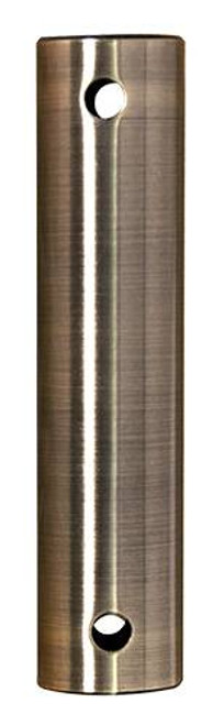 Fanimation DR1SS-24ABW 24-inch Downrod - Antique Brass - Stainless Steel At CLW Lighting!