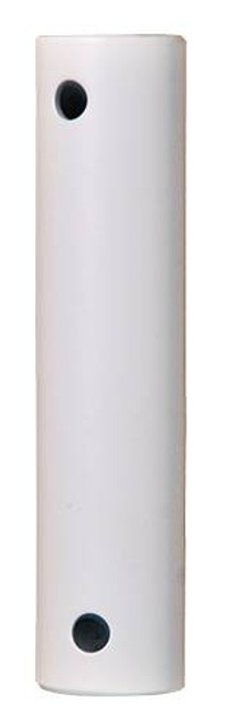 Fanimation DR1SS-48MWW 48-inch Downrod - Matte White - Stainless Steel At CLW Lighting!