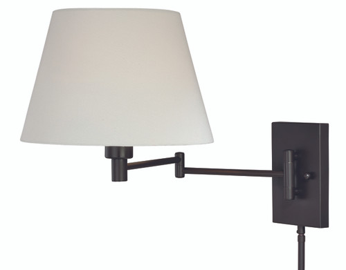 Vaxcel W0200 Chapeau Smart Lighting Swing Arm Wall Light