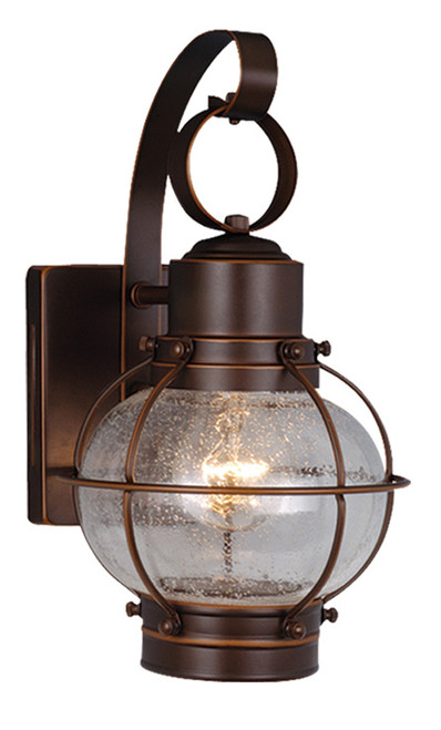 """Vaxcel OW21861BBZ Chatham 7"""" Outdoor Wall Light"""