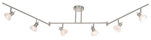 Vaxcel SP53566SN Como 6 Light Swing Track Bar