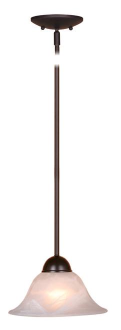 """Vaxcel PD5024OBB Da Vinci 10"""" Mini Pendant"""