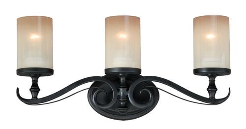 Vaxcel W0045 Elba 3 Light Wall Light