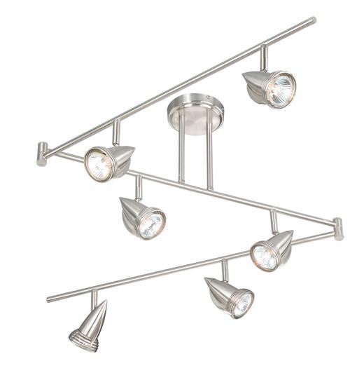 Vaxcel SP34166SN Garda 6 Light Swing Track Bar