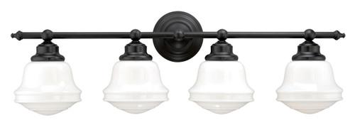 Vaxcel W0172 Huntley 4 Light Vanity