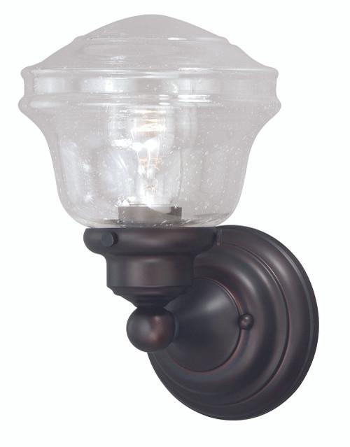 Vaxcel W0188 Huntley 1 Light Vanity