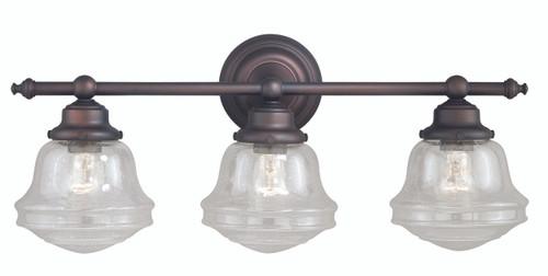 Vaxcel W0190 Huntley 3 Light Vanity