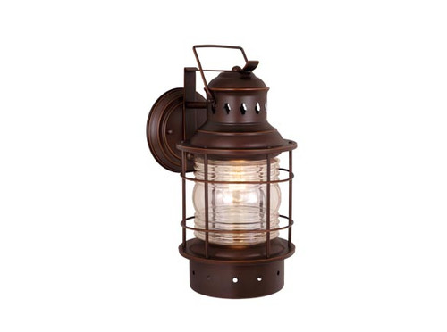 """Vaxcel OW37051BBZ Hyannis 12"""" Outdoor Wall Light"""
