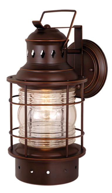 """Vaxcel OW37081BBZ Hyannis 8"""" Outdoor Wall Light"""
