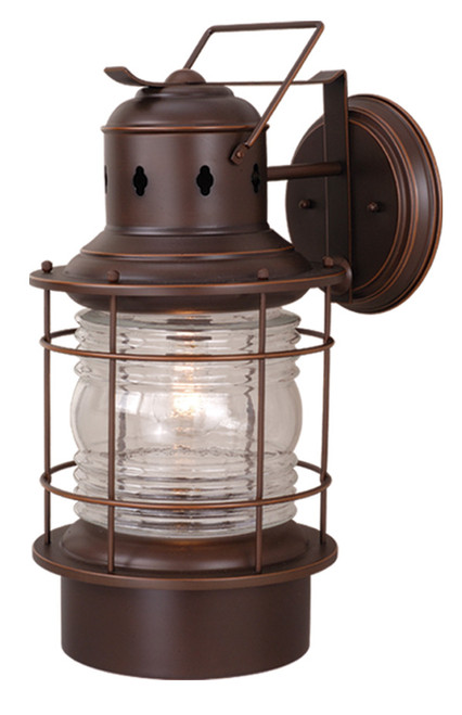 """Vaxcel OW37001BBZ Hyannis 10"""" Outdoor Wall Light"""