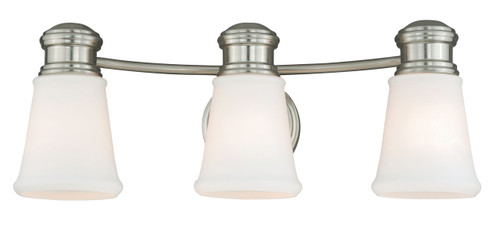 Vaxcel W0220 Malie 3 Light Vanity