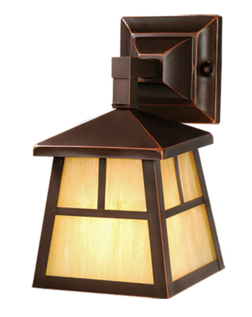 """Vaxcel OW37263BBZ Mission 6"""" Outdoor Wall Light"""