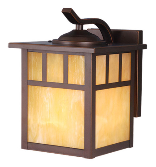 """Vaxcel OW37273BBZ Mission 7"""" Outdoor Wall Light"""