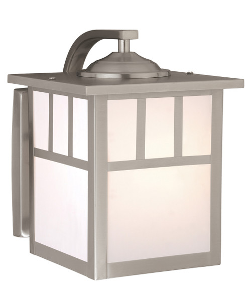"""Vaxcel OW14673ST Mission 7"""" Outdoor Wall Light"""