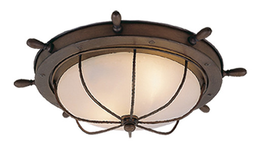 "Vaxcel OF25515RC Nautical 15"" Outdoor Ceiling Light"