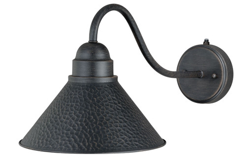 """Vaxcel T0198 Outland 10"""" Long Arm Outdoor Wall Light"""