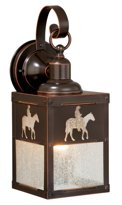"""Vaxcel T0110 Trail 5"""" Outdoor Wall Light"""