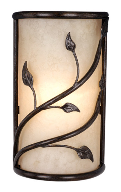 """Vaxcel WS38865OL Vine 10"""" Wall Sconce"""