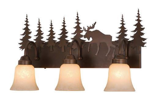 Vaxcel VL55603BBZ Yellowstone 3 Light Vanity