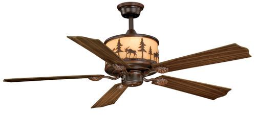 """Vaxcel FN56305BBZ Yellowstone 56"""" Ceiling Fan"""