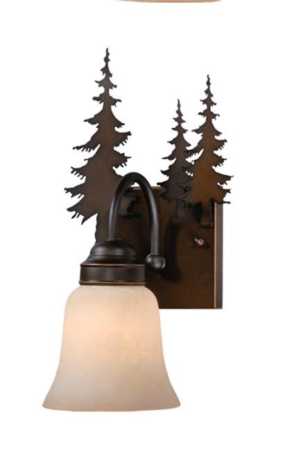 Vaxcel VL55501BBZ Yosemite 1 Light Wall Light